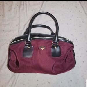 Victoria Secret Burgandy Handbag/ Purse